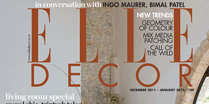ELLE DECOR INDIA | 2011